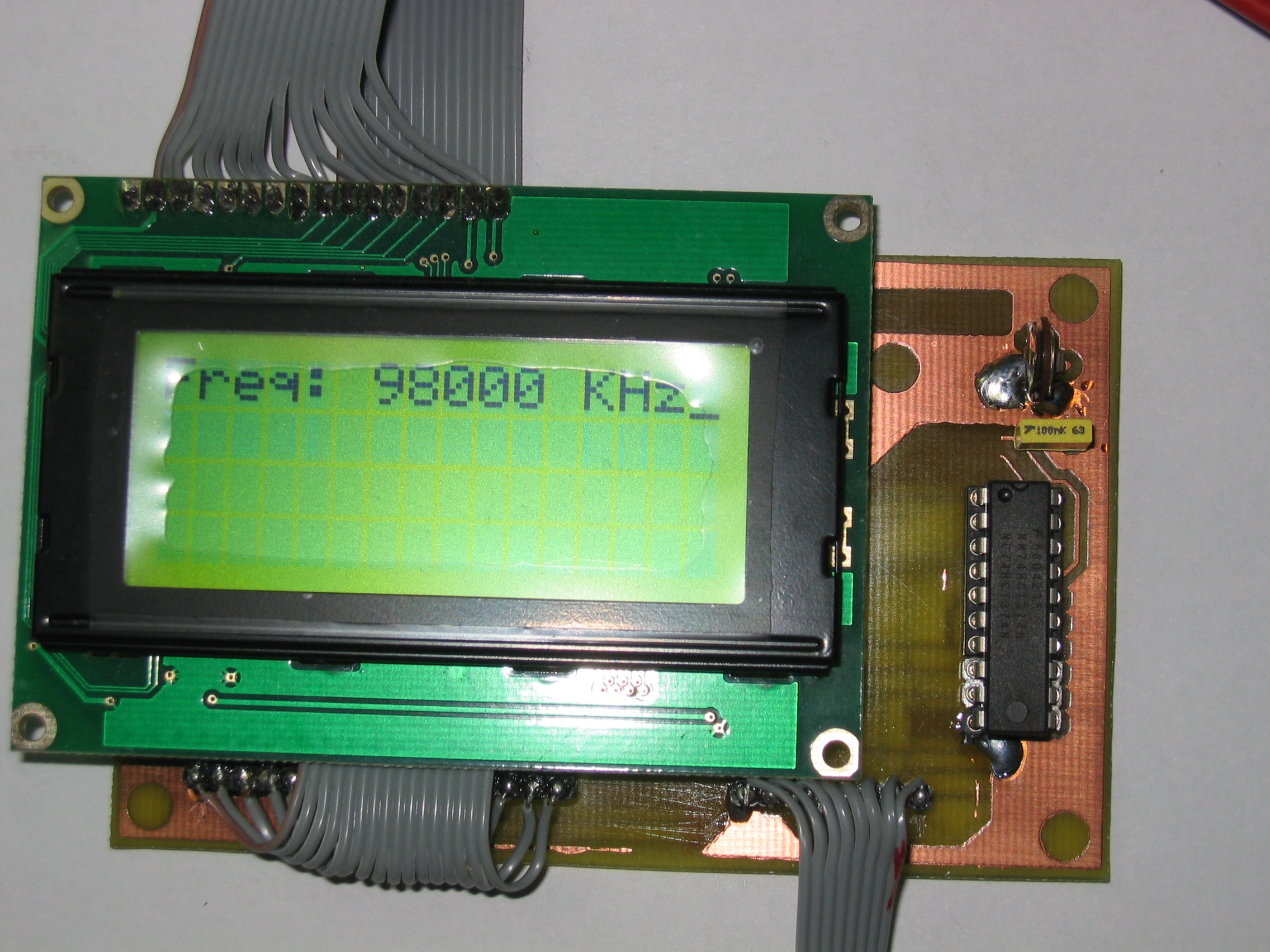 Lcd For P Board Pll Avr Interfacing With Electronic Circuits And Diagram